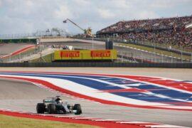 Lewis Hamilton Mercedes Circuit of the Americas, Austin, Texas, United States of America F1 2017