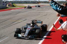 Formula One - Mercedes-AMG Petronas Motorsport, United States GP 2017. Lewis Hamilton