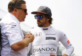 McLaren closes door on Alonso's F1 return