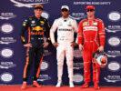 Lewis Hamilton, Max Verstappen & Kimi Raikkonen Malaysian GP F1/2017