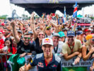 Pierre Gasly Toro Rosso with Fans Malaysian GP F1/2017