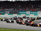 Drivers on track Malaysian GP F1/2017