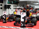 Max Verstappen & Daniel Ricciardo Red Bull Mlaysian GP F1/2017