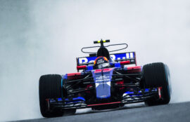 Pierre Gasly Toro Rosso Japanese GP F1/2017
