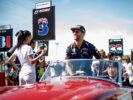 Daniel Ricciardo on the drivers parade Japanese GP F1/2017