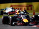 Daniel Ricciardo on track Japanese GP F1/2017