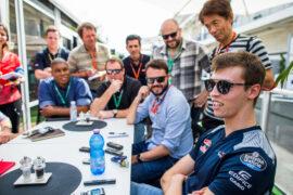Daniil Kvyat Toro Rosso US GP F1/2017