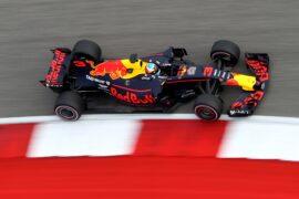 Daniel Ricciardo Red Bull USGP F1/2017