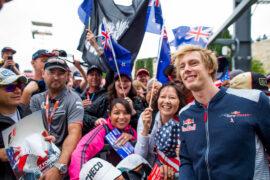 Brendon Hartley Toro Rosso USGP F1/2017
