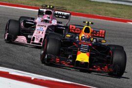 Max Verstappen & Esteban Ocon USGP F1/2017