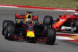 Daniel Ricciardo & Kimi Raikkonen USGP F1/2017