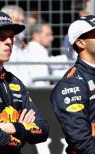 Max Verstappen & Daniel Ricciardo Red Bull USGP F1/2017