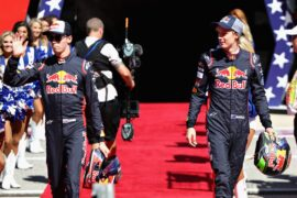 Daniil Kvyat & Brendon Hartley Toro Rosso USGP F1/2017
