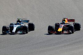 Daniel Ricciardo & Valtteri Bottas USGP F1/2017