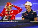 Sebastian Vettel & Pierre Gasly Mexico GP F1/2017