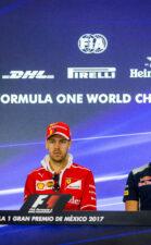 Valtteri Bottas, Sebastian Vettel & Pierre Gasly Mexico GP F1/2017