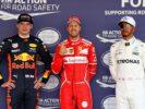 Sebastian Vettel, Max Verstappen & Lewis Hamilton Qualification Mexico GP F1/2017