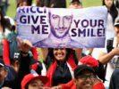 Daniel Ricciardo Fans Mexico GP F1/2017