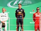 Max Verstappen, Valtteri Bottas & Kimi Raikkonen winners Mexico GP F1/2017