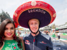 Brendon Hartley & Helmut Marko Red Bull Mexico GP F1/2017