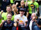 Max Verstappen Red Bull winner Mexico GP F1/2017