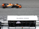 Sepang International Circuit, Sepang, Malaysia. Sunday 01 October 2017. Fernando Alonso, McLaren MCL32 Honda, passes the team pit wall.