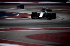 Circuit of the Americas, Austin, Texas, United States of America 2017. Lance Stroll, Williams FW40 Mercedes.