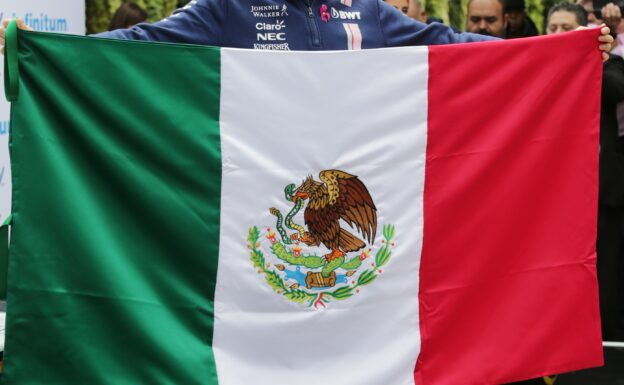 Sergio Perez (MEX) Sahara Force India F1 at an America Movil Press Conference. Mexican Grand Prix, Wednesday 25th October 2017. Mexico City, Mexico.