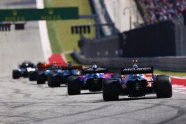 Circuit of the Americas, Austin, Texas, United States of America. Sunday 22 October 2017. Stoffel Vandoorne, McLaren MCL32 Honda.