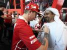 Kimi Raikkonen Ferrari GP ABU DHABI F1/2017
