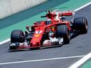 Kimi Raikkonen Ferrari Brazilian GP F1/2017