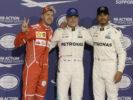 Qualification Valtteri Bottas, Sebastian Vettel & Lewis Hamilton GP ABU DHABI F1/2017