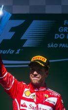 Sebastian Vettel winner Brazilian GP F1/2017