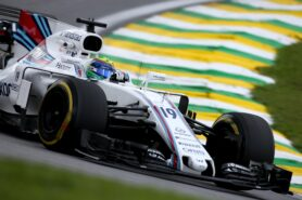 Interlagos, Sao Paulo, Brazil. Friday 10 November 2017. Felipe Massa, Williams FW40 Mercedes.
