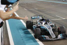 Formula One - Mercedes-AMG Petronas Motorsport, Abu Dhabi GP 2017. Valtteri Bottas