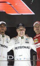 Formula One - Mercedes-AMG Petronas Motorsport, Abu Dhabi GP 2017. Lewis Hamilton, Valtteri Bottas, Sebastian Vettel.