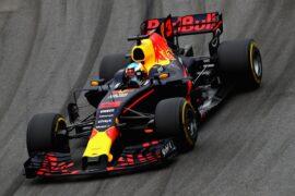 Daniel Ricciardo Red Bull Brazilian GP F1/2017