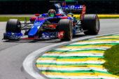Pierre Gasly Toro Rosso STR12 Brazilian GP (2017)