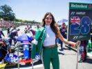 Pit girl Brendon Hartley Toro Rosso Brazilian GP F1/2017