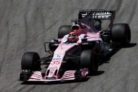 George Russell (GBR) Sahara Force India F1 VJM10 Test Driver. Brazilian Grand Prix 2017. Sao Paulo, Brazil.