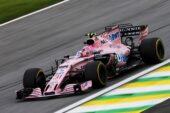 Esteban Ocon (FRA) Sahara Force India F1 VJM10. Brazilian Grand Prix 2017. Sao Paulo, Brazil.