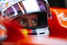 Sebastian Vettel Ferrari Testing Abu Dhabi F1/2017
