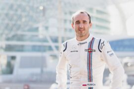 Williams F1 Reserve Driver Official Portraits Tuesday 16 January 2018 Robert Kubica.