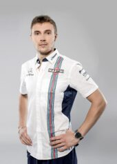Williams F1 Drivers Official Portraits Tuesday 16 January 2018 Sergey Sirotkin.
