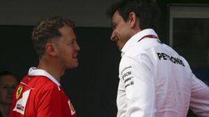 Wolff says Vettel had to end Ferrari dream last year