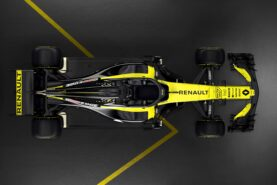 Renault RS18 top view
