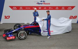 2018 Toro Rosso STR13  F1 car launch pictures
