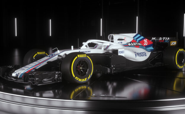 Williams FW41 left front view