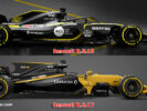 First Comparison Renault RS17 VS Renault RS18