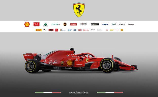 Ferrari SF71H side view